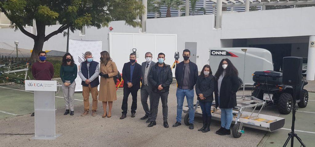 La Universidad de Cádiz refuerza el liderazgo a nivel nacional de su Unidad de Geodetección