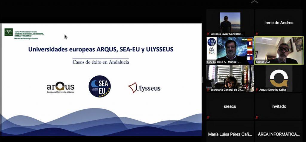 Andalucía lidera en España la iniciativa 'European Universities' con tres alianzas universitarias