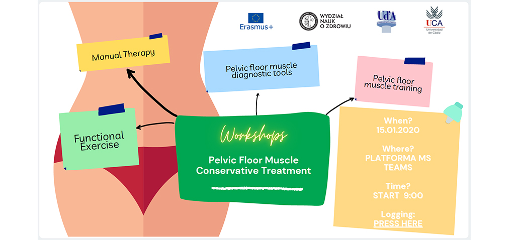 La UCA impulsa el workshop online 'Pelvic Floor Muscle Conservative Treatment'