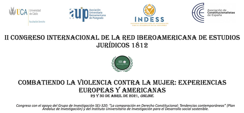 El Il Congreso 'Combatiendo la violencia contra la mujer: Experiencias europeas y americanas' se celebrará el 29 de abril