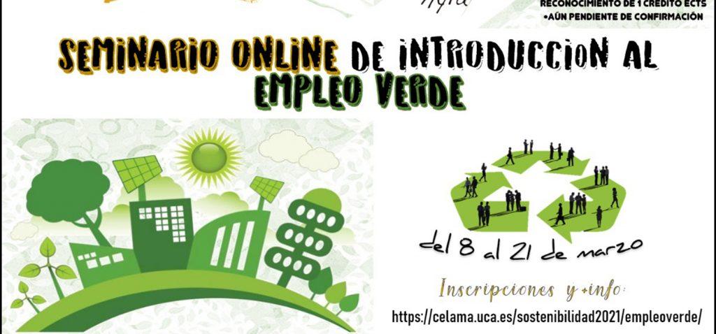 Seminario Online de Introducción al Empleo Verde