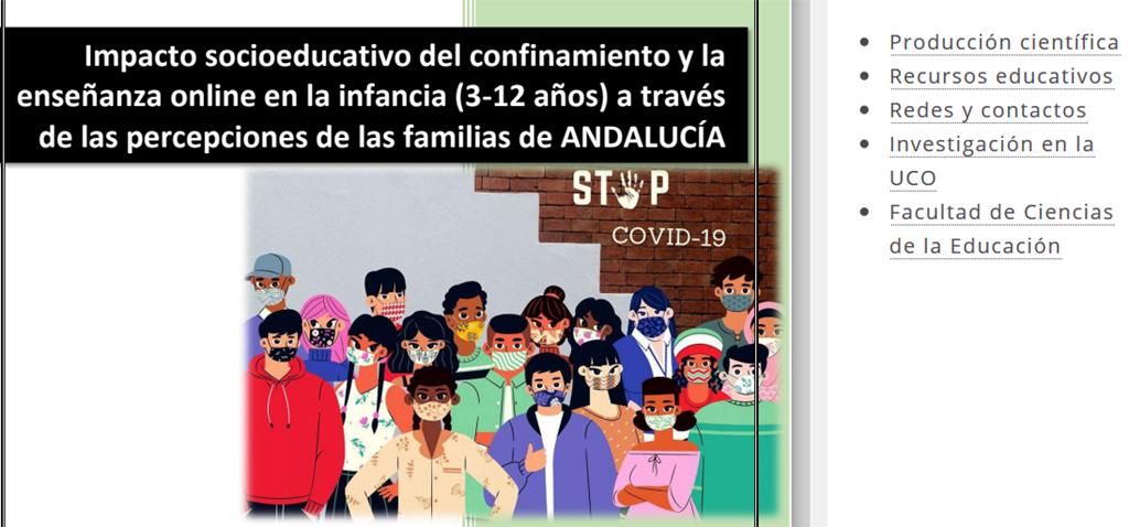 Un estudio andaluz analiza el impacto socioemocional y educativo del confinamiento en la infancia andaluza