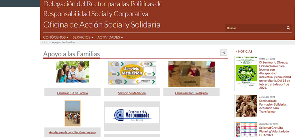 Abierto en Celama la inscripción para el III taller online de la Escuela UCA de Personas Cuidadores