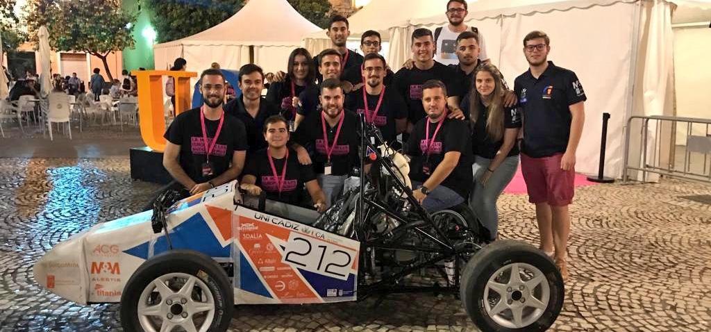 El monoplaza de estudiantes de la UCA participará por primera vez en la competición internacional 'Formula Student Czech Republic'