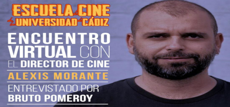 El director de cine Alexis Morante, esta tarde en el programa 'Cine en Red'