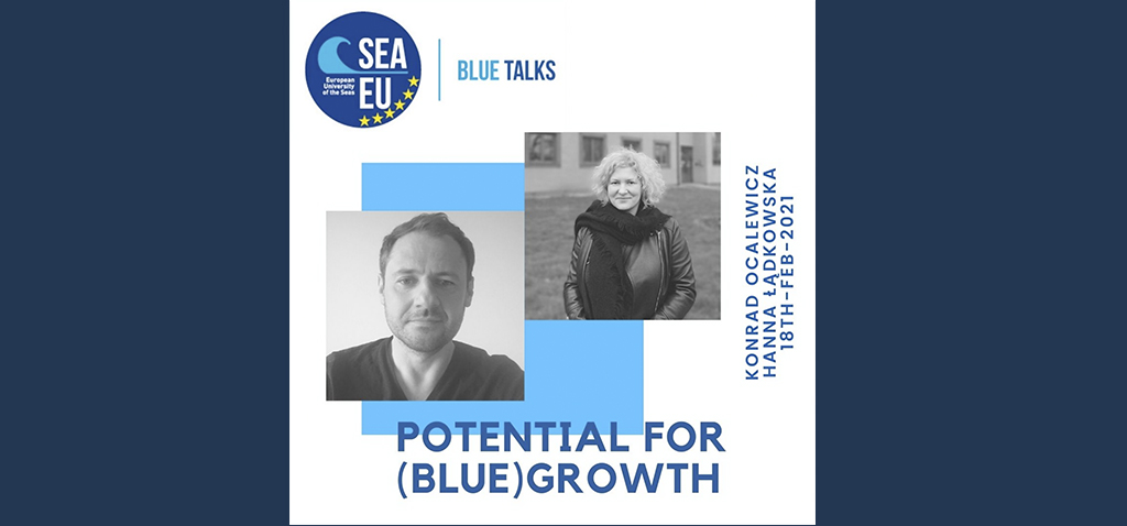 Konrad Ocalewicz y Hanna Ladkowrka protagonizan hoy las 'Blue Talks' de SEA-EU