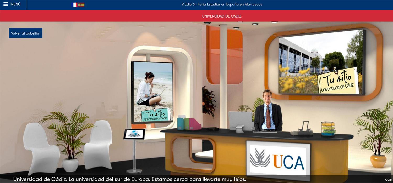La UCA participa en la V Feria virtual #EstudiarEnEspaña