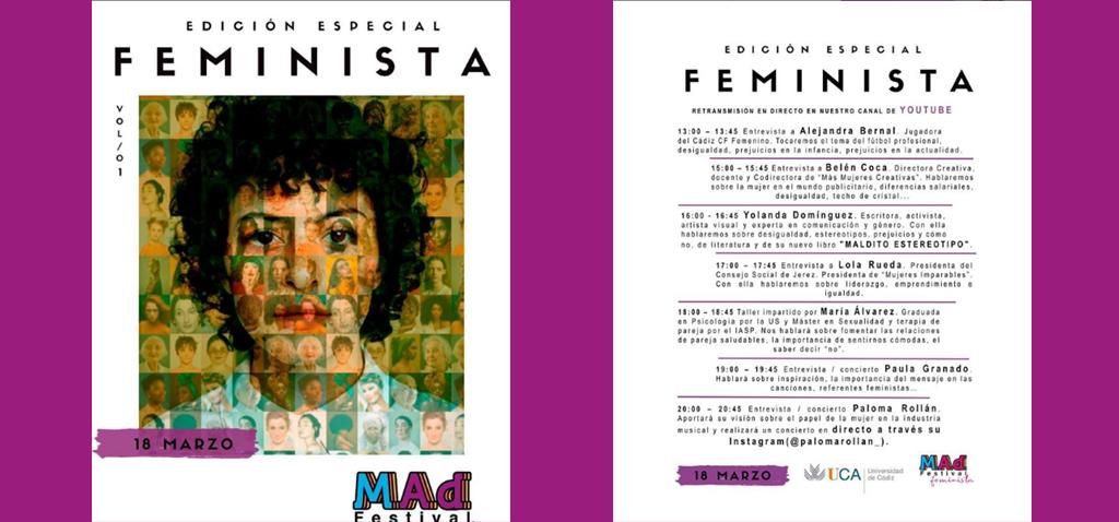 Arranca el MAD Festival 2021, edición Feminista