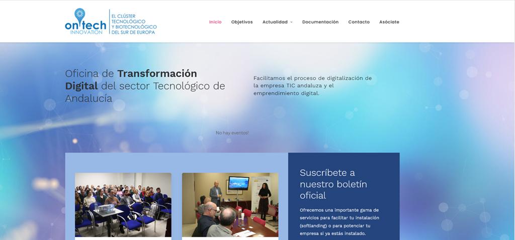 La UCA se incorpora a la red de centros de conocimiento del clúster tecnológico 'OnTech Innovation'