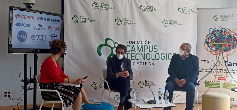 La UCA participa en el encuentro 'Think Tank' de la Fundación Campus Tecnológico de Algeciras