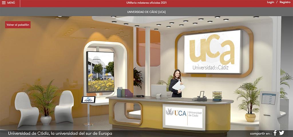 La Universidad de Cádiz participa en 'UniFeria Másteres' con toda la información de su diversa oferta de 56 másteres oficiales