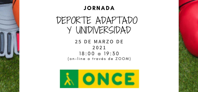 """Jornada """"Deporte Adaptado y UniDIversidad"""""""