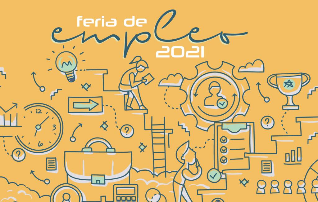 IMG La Feria de Empleo Virtual 2021, del 5 al 7 de mayo