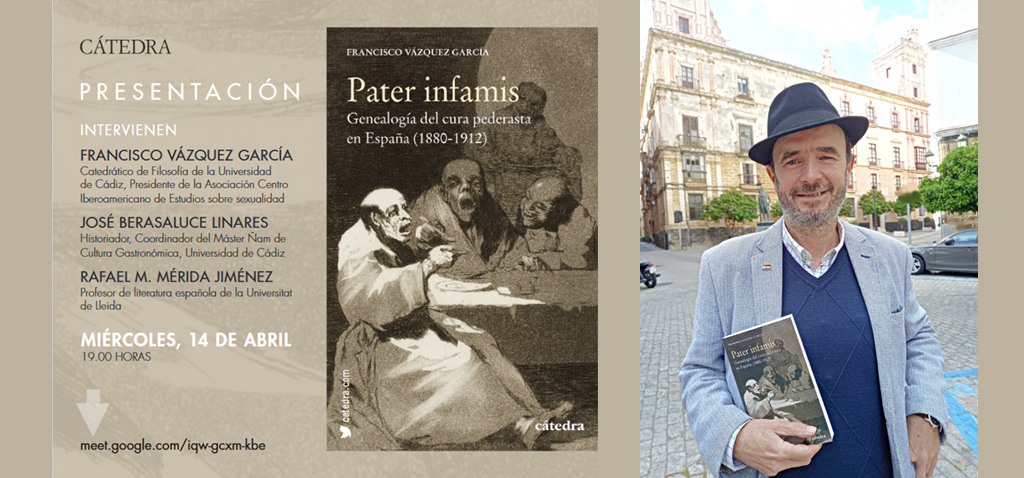 'Pater Infamis' se presenta en el III Congreso de Género y Sexualidad en las Culturas Hispánicas