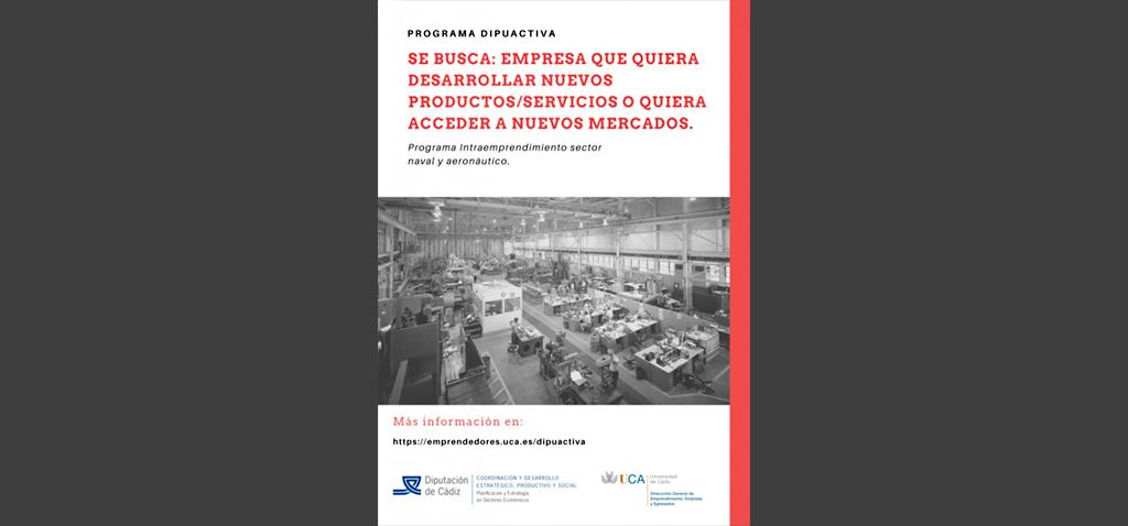 UCA y Diputación de Cádiz crean el programa 'LEAN INTRAEMPRENDE' para pymes de sectores naval y aeronáutico
