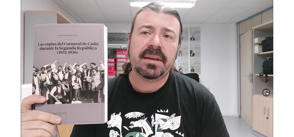 Editorial UCA presenta 'Las coplas del Carnaval de Cádiz durante la Segunda República'