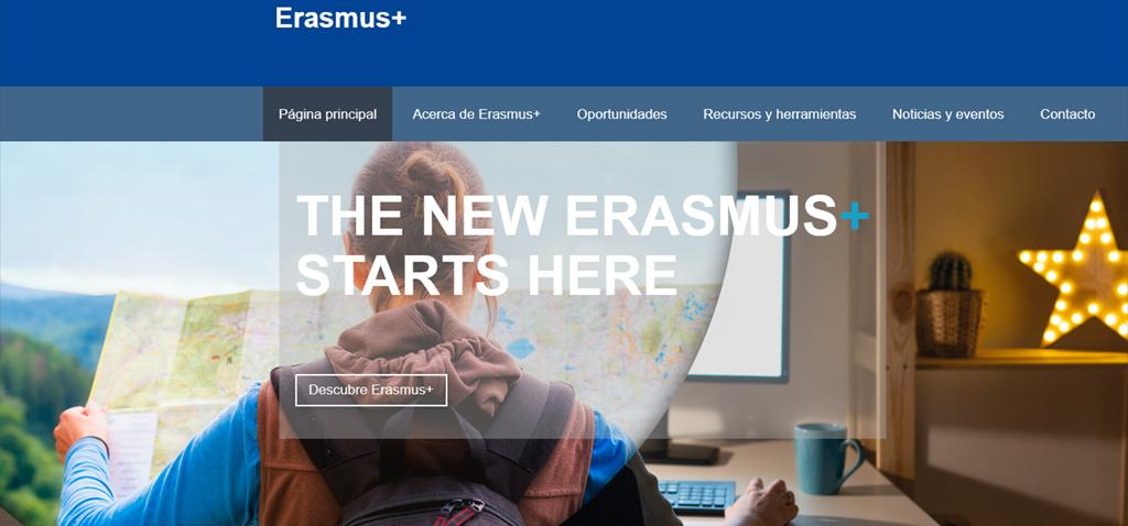 Toda la información sobre proyectos Erasmus+ en un clic