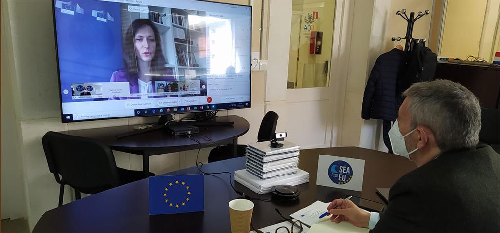 SEA-EU participa en el encuentro internacional de la Comisión Europea para las Alianzas Universitarias