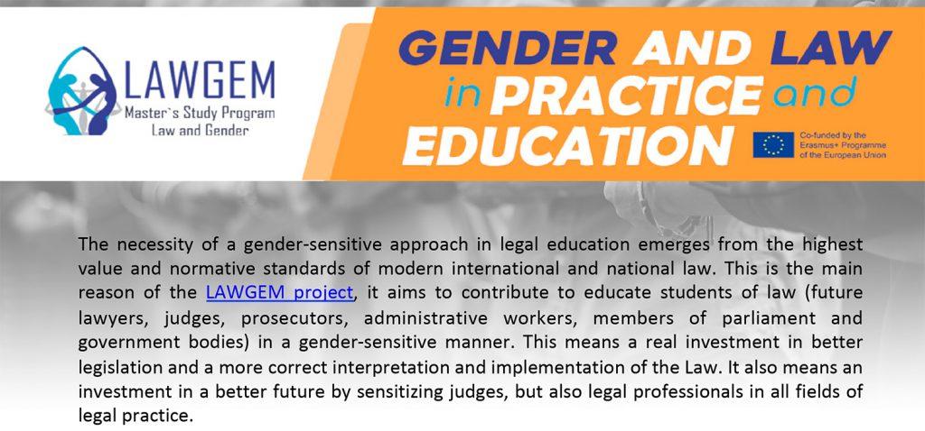 Congreso InternacionalGender and Law in Practice and Education