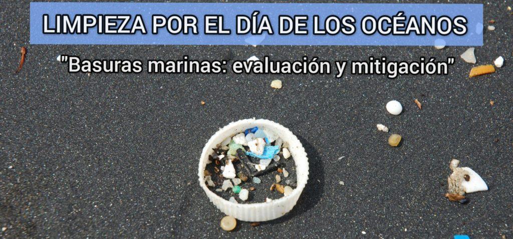 Evaluación y limpieza de basuras marinas   Día de los Océanos