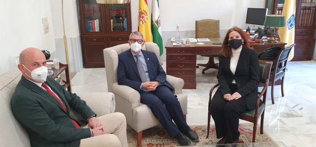 El rector de la UCA se reúne con el nuevo director de Reparaciones de Navantia en la Bahía de Cádiz