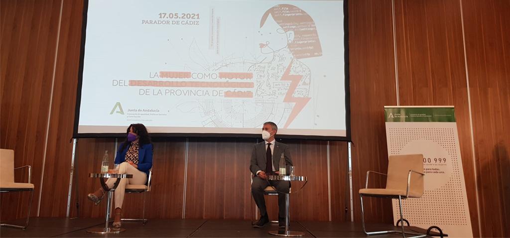 La UCA participa en la Jornada del IAM 'La mujer como motor del desarrollo tecnológico de la provincia de Cádiz'