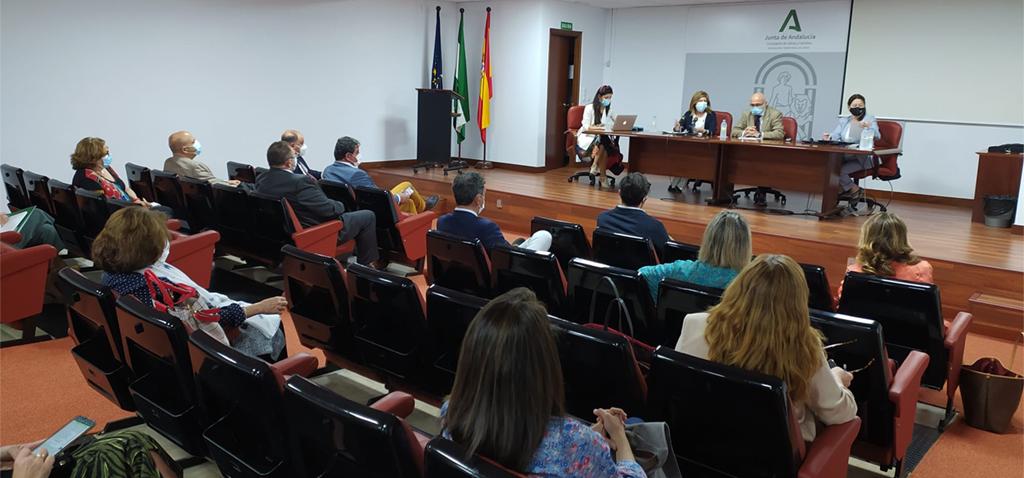 La UCA participa en jornada de trabajo con Junta, SAS y Fundación de Investigación Biomédica