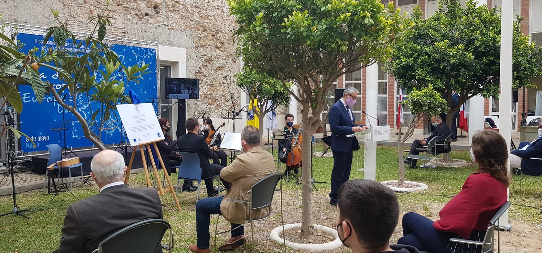 La UCA celebra el Día de Europa 2021