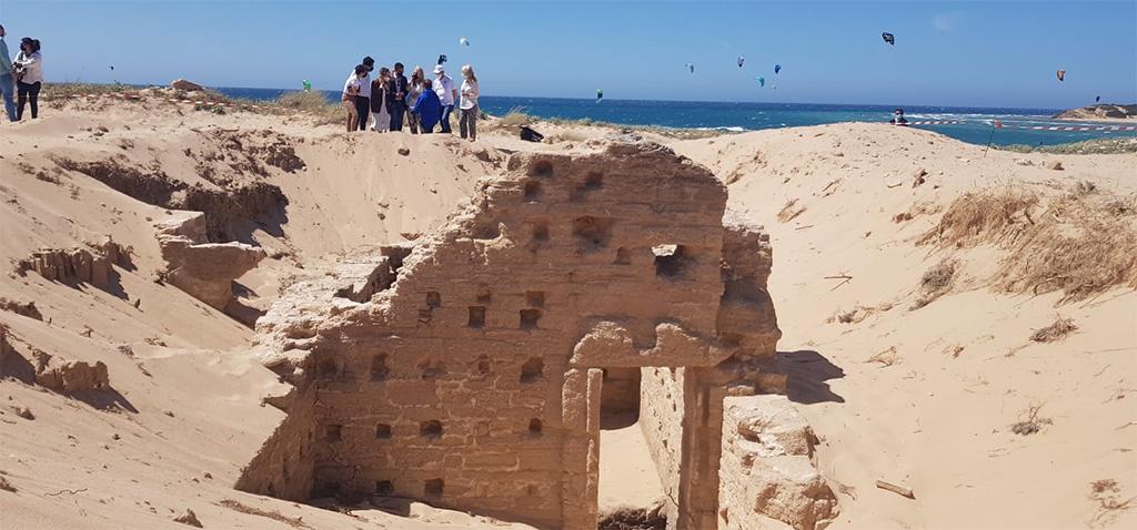 La UCA estudia relevantes restos arqueológicos que abarcan desde la Prehistoria hasta la época moderna en el Cabo Trafalgar