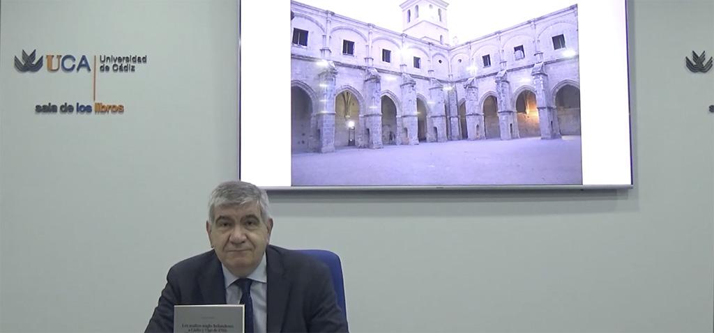 Editorial UCA presenta el libro 'Los asaltos a Cádiz y Vigo de 1702: El diario del barón Sparre' de Manuel Bustos