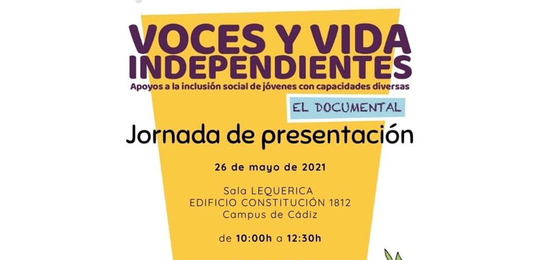 Jornada Voces y Vida Independientes