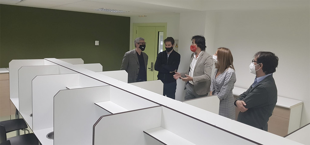 El rector de la UCA realiza visita Institucional al centro 'El Madrugador' de la Diputación de Cádiz