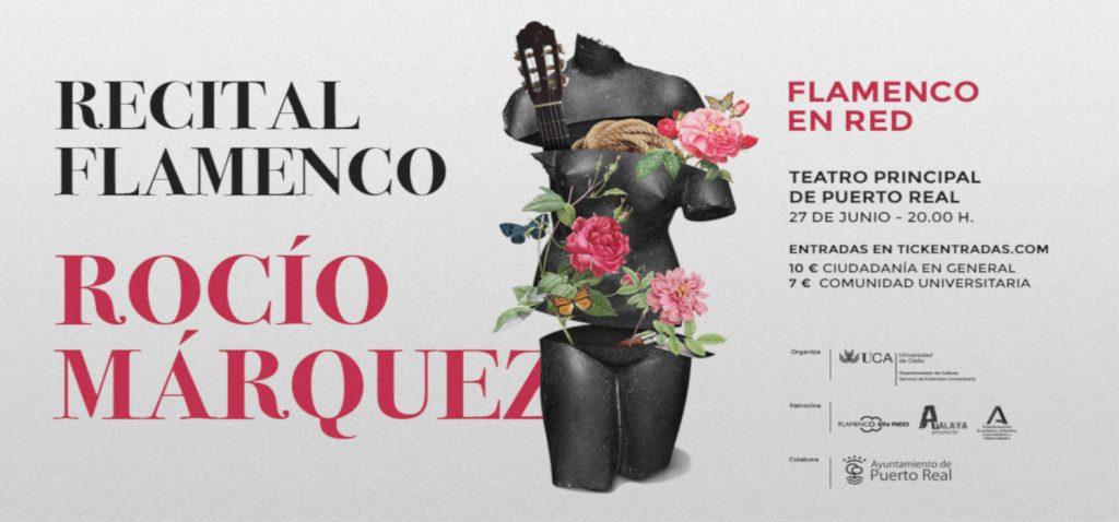 Rocío Márquez ofrecerá un recital flamenco el próximo domingo 27 en Puerto Real