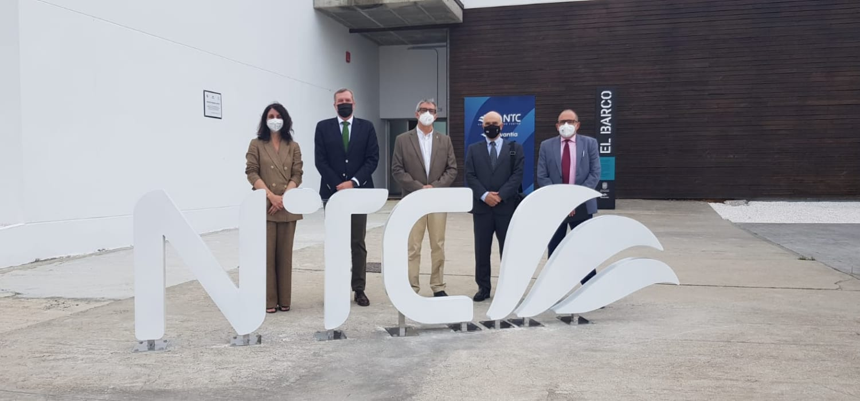 El rector de la UCA y una delegación de la SEA-EU visitan el Navantia Training Centre