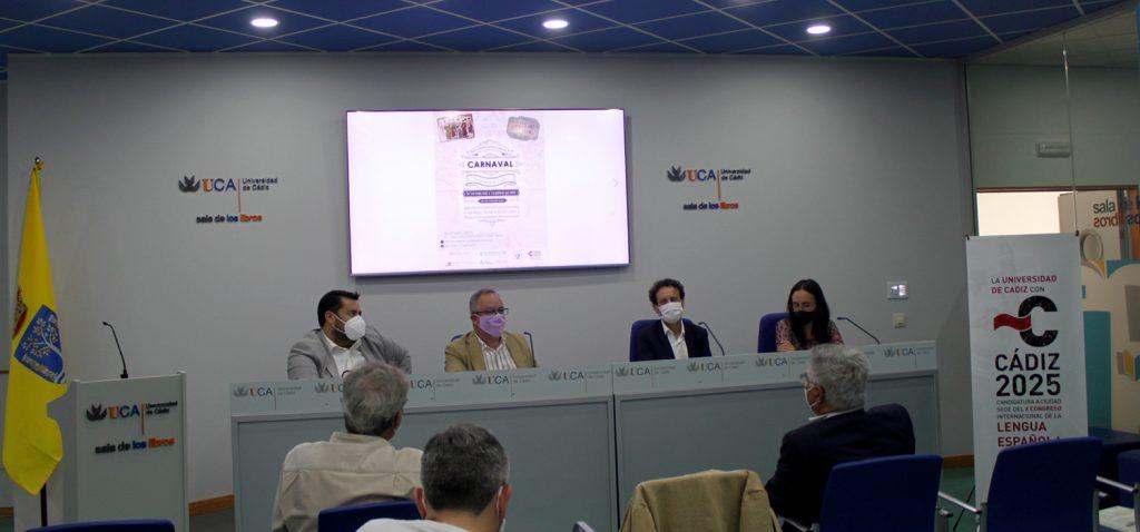 XXII Congreso Internacional 'Carnavales de ida y vuelta: de Las Viejas Ricas a La Gaditana que volvió'