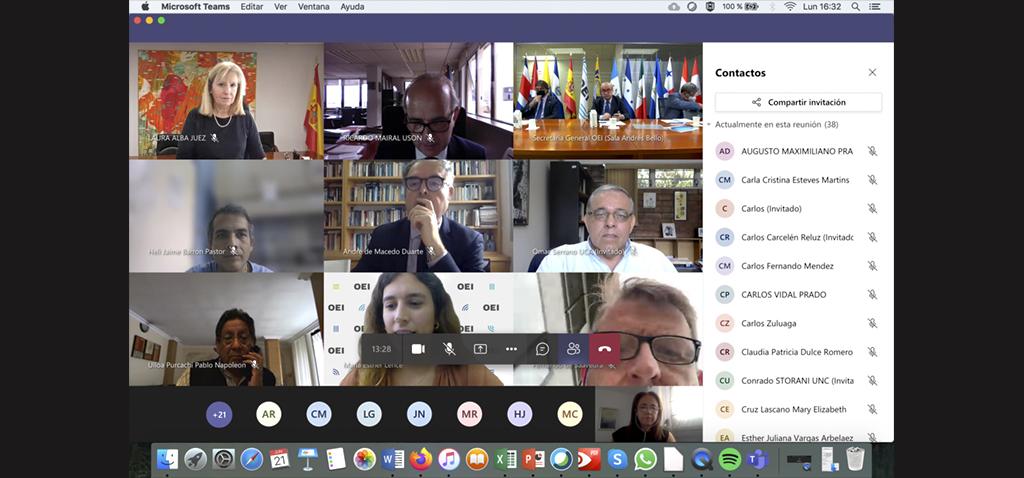 La UCA forma parte de la Red Iberoamericana de Universidades comprometidas con los Derechos Humanos