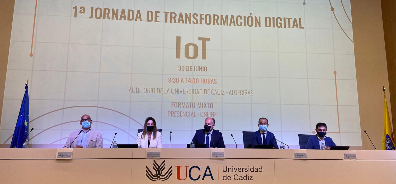 La I Jornada de Transformación Digital IoT se celebra en la UCA