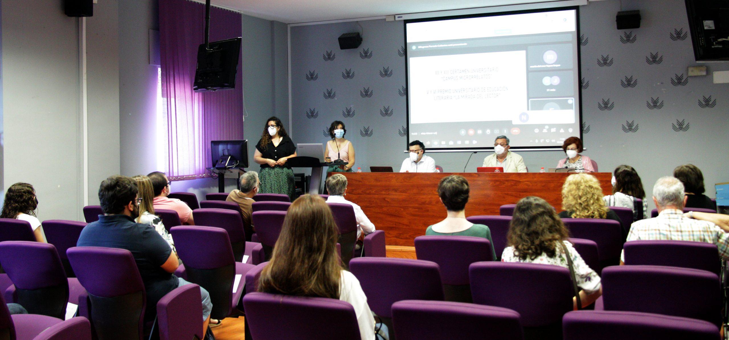 La UCA falla el Certamen 'Campus-Microrrelatos' y el Premio de Educación Literaria 'La Mirada del Lector'