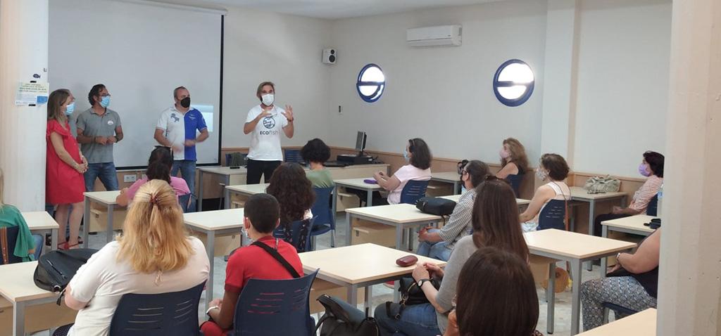 La UCA, a través del proyecto Ecofish +, promueve la red Ecoazul