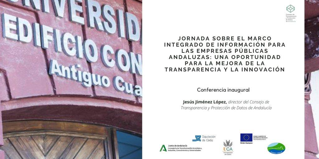 Jornada sobre Marco Integrado de Información para las Empresas Públicas Andaluzas: una Oportunidad para la Mejora de la Transparencia y la Innovación