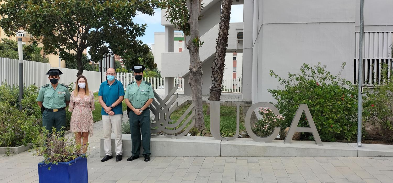 El Campus Bahía de Algeciras y la Comandancia de la Guardia Civil plantean colaboraciones formativas conjuntas