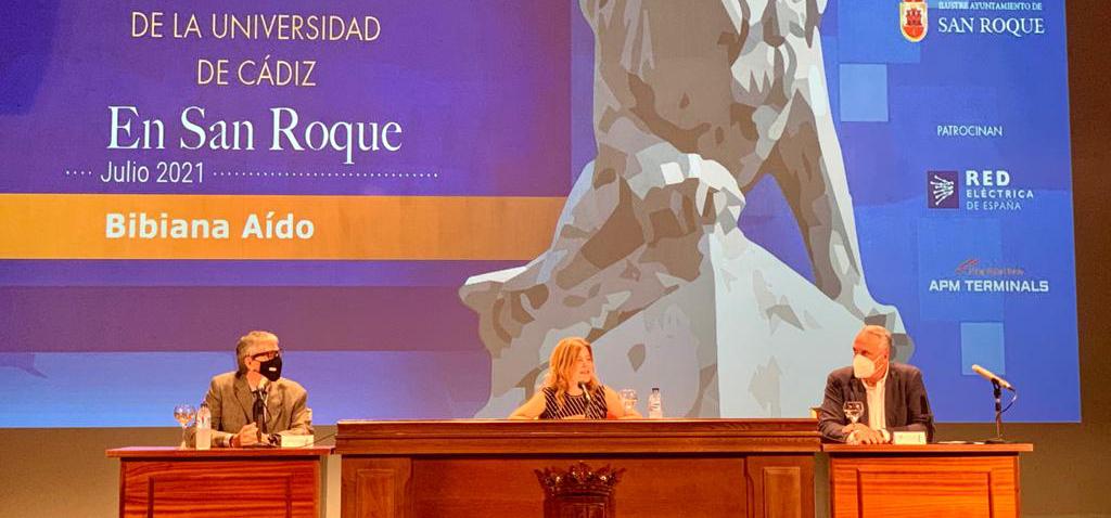 Bibiana Aído protagoniza los Encuentros de Verano de la UCA de San Roque