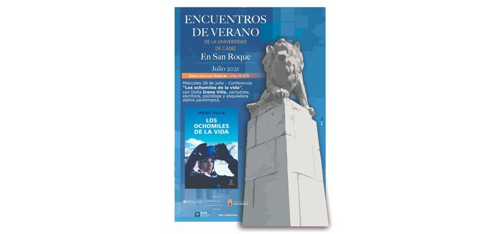 Irene Villa completará mañana el ciclo de Encuentros de Verano en San Roque