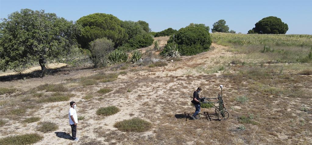 Investigadores de UCA y Algarve realizan una campaña geofísica y arqueológica en la urbe romana de Balsa