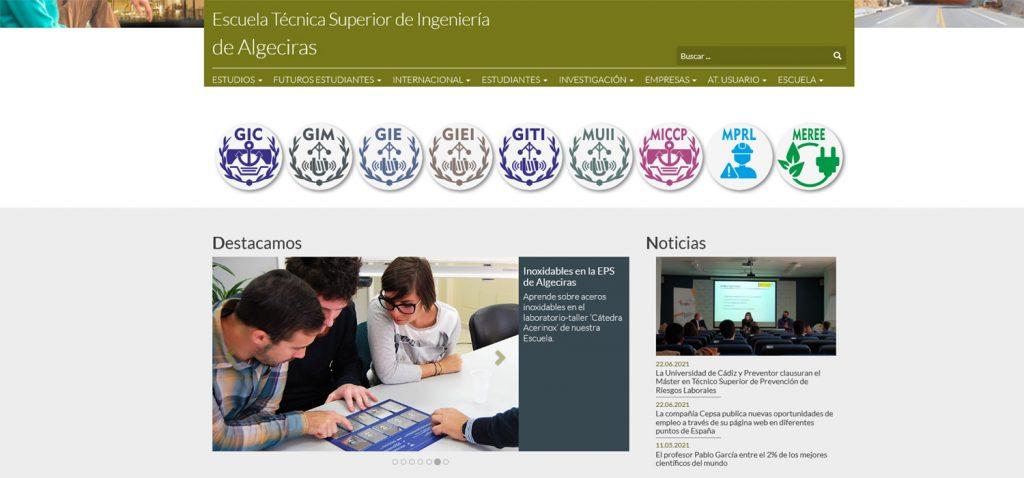 La EPSA es ahora Escuela Técnica Superior de Ingeniería de Algeciras