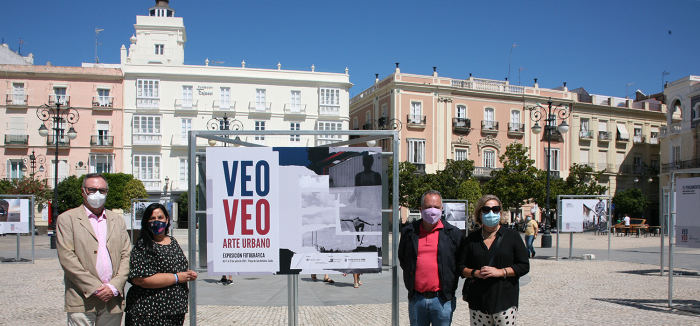 La UCA inaugura la exposición 'Veo-veo, arte urbano'