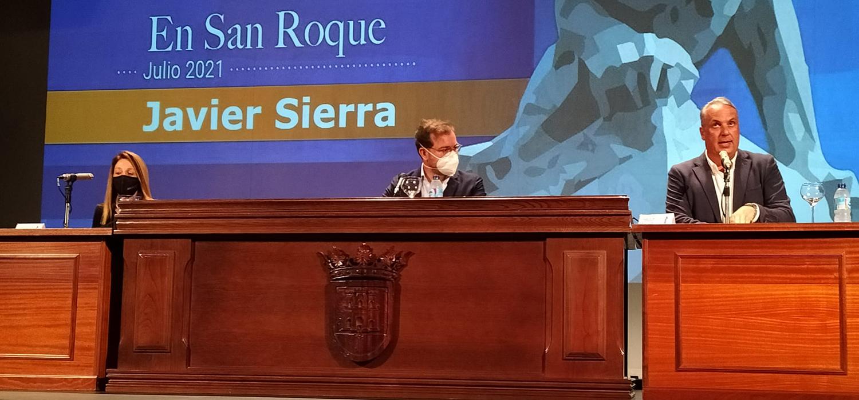 El escritor Javier Sierra protagoniza el tercer Encuentro de Verano de la UCA en San Roque