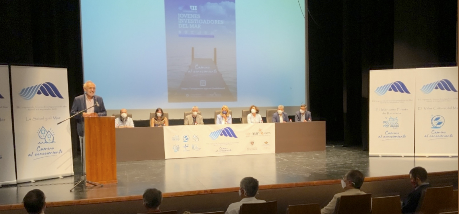 El rector de la UCA subraya que CEI·MAR debe seguir liderando la estrategia de la economía azul desde el Sur de Europa