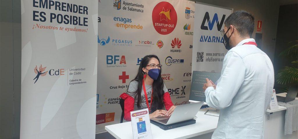 UCA Emprende participa en el VII Congreso Internacional 'Startup Olé' celebrado en Salamanca