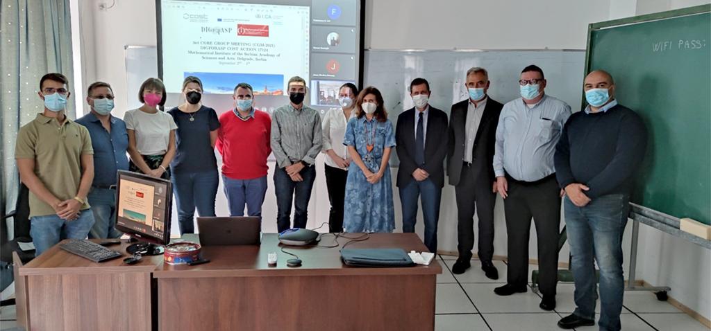 'DIGFORASP' celebra un encuentro de inteligencia artificial y ciencia forense digital en Belgrado